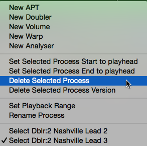 Deleting or renaming a Process or its output