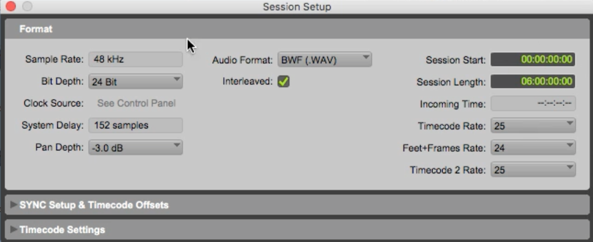 Capturing audio from Pro Tools using the link plug-in