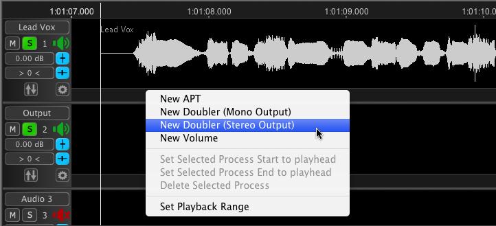 Revoice Pro 3 Doubler - Step 1