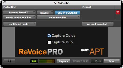 Revoice Pro DAW Integration Page - Quick APT
