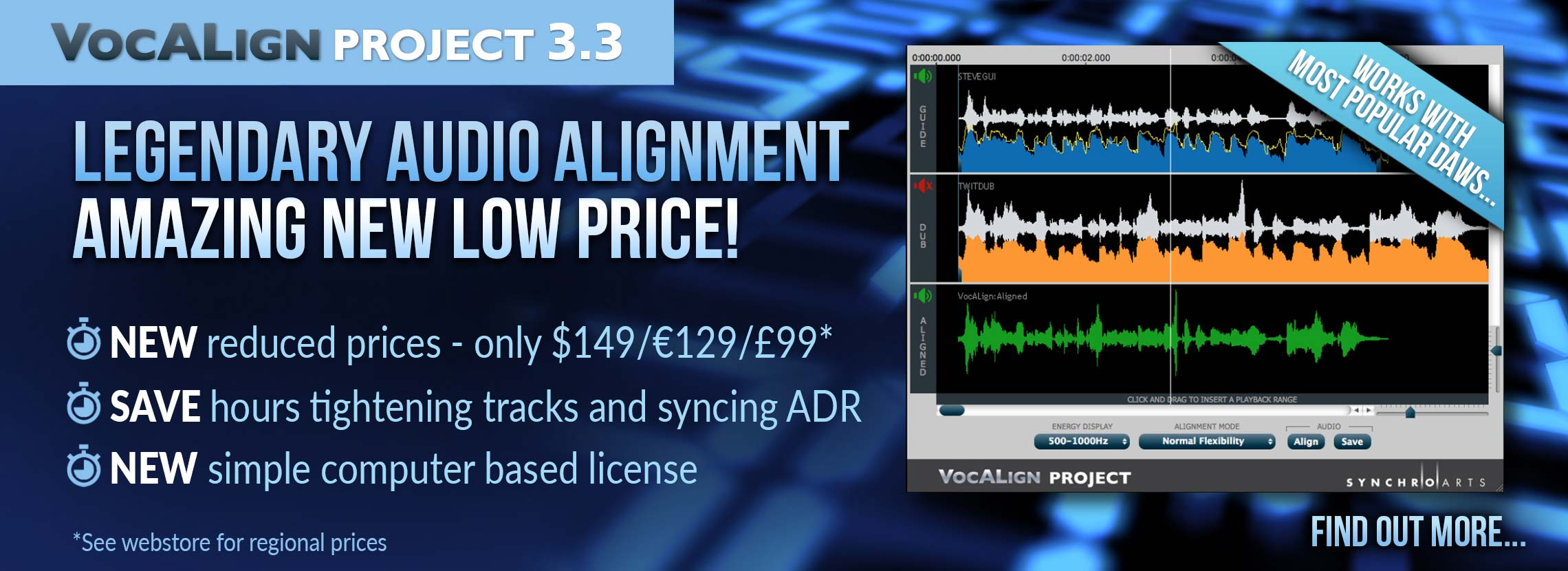 VocALign Project 3 gets new price