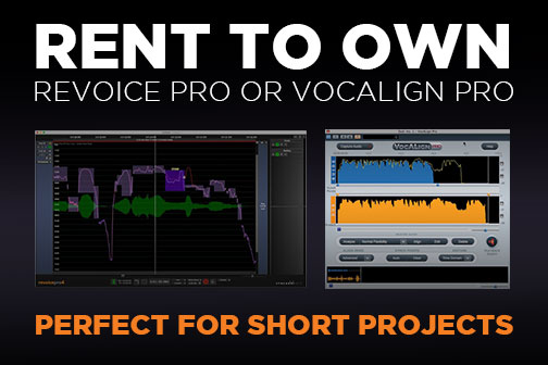 New Low Price For VocALign Project 3.3