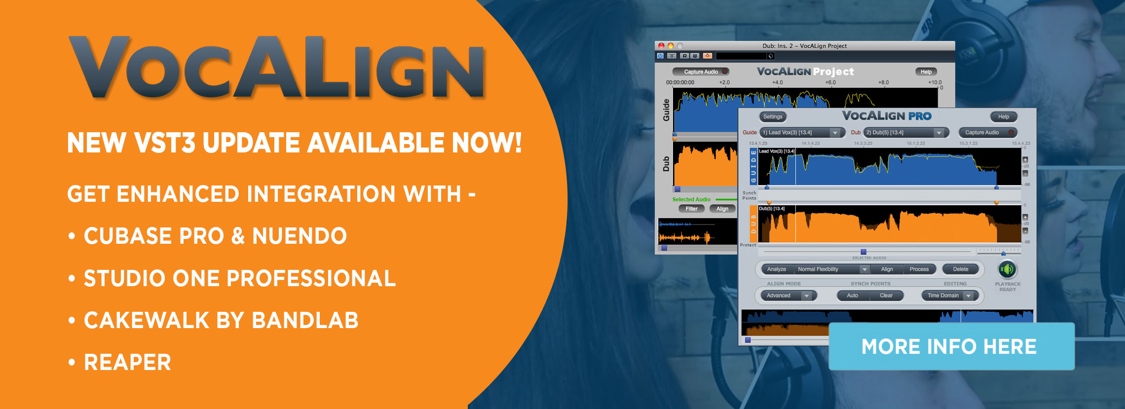 synchro arts vocalign time alignment vocal processing software plugin