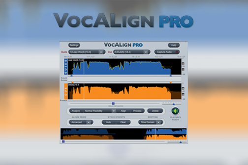 synchro arts vocalign pro vocal alignment timing adjustment pro tools logic