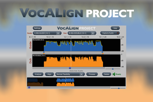 synchro arts vocalign project vocal alignment timing adjustment pro tools logic