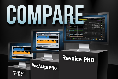 Compare VocALign and Revoice Pro